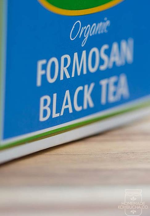 black tea for kombucha