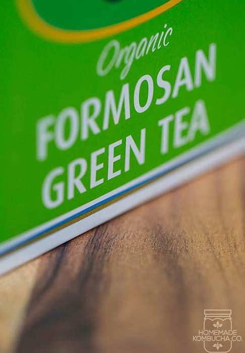 green tea for kombucha